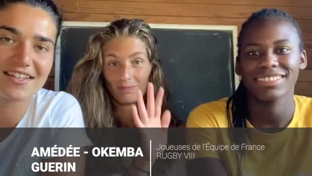 Interview de 3 internationales de rugby à VII